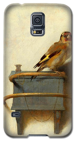 Meadowlark Galaxy S5 Case - The Goldfinch by Carel Fabritius