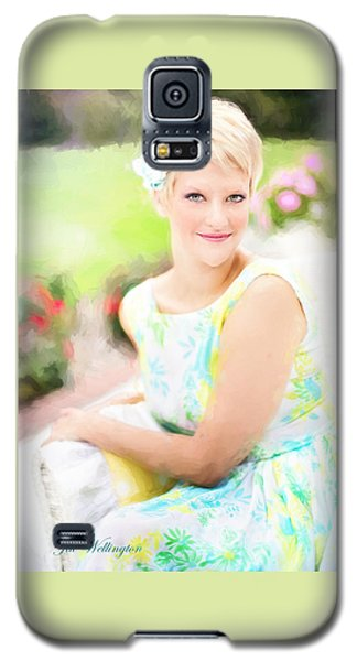 Vintage Val Iced Tea Time Galaxy S5 Case