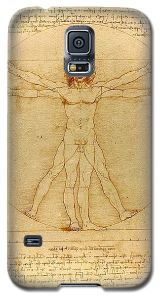 Vitruvian Man Galaxy S5 Case