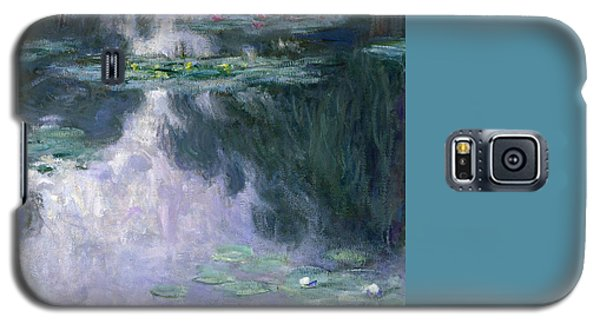 Impressionism Galaxy S5 Case - Waterlilies by Claude Monet