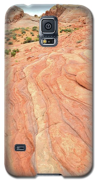 Galaxy S5 Case featuring the photograph Wave Of Color In Valley Of Fire by Ray Mathis