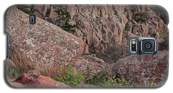 Galaxy S5 Case featuring the photograph Wichita Mountains by Iris Greenwell