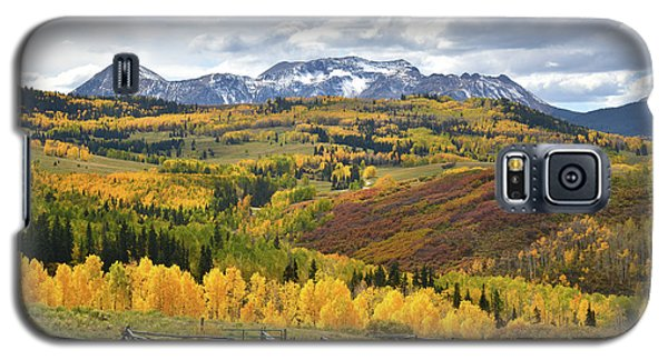 Wilson Mesa Ranch Loop Road Galaxy S5 Case by Ray Mathis