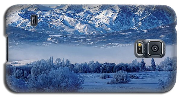 Winter In The Wasatch Mountains Of Northern Utah Galaxy S5 Case