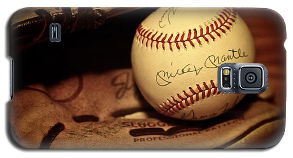 50 Home Run Baseball Galaxy S5 Case by Mark Miller