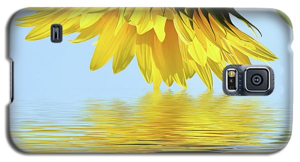 Nice Sunflower Galaxy S5 Case