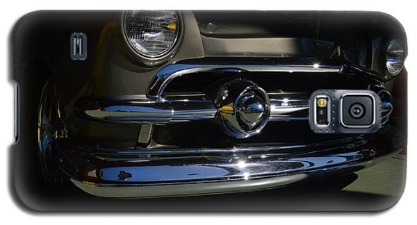 Galaxy S5 Case featuring the photograph 51 Ford Woody Nose by Bill Dutting