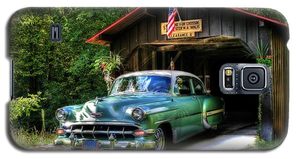 54 Chevy Galaxy S5 Case by Joel Witmeyer