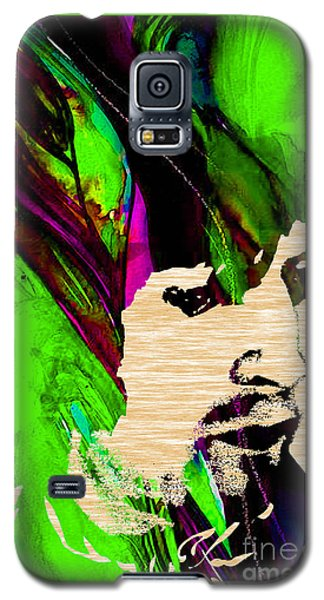 Eric Clapton Galaxy S5 Case - Eric Clapton Collection by Marvin Blaine