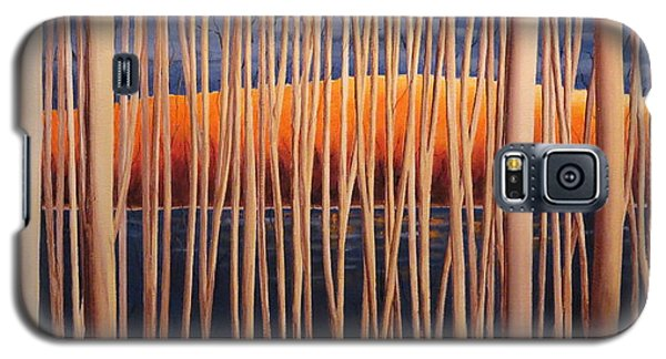 Galaxy S5 Case featuring the painting 54 Trees by Jo Appleby
