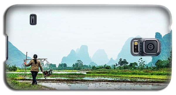 Karst Rural Scenery In Spring Galaxy S5 Case