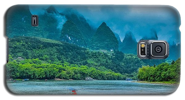 Karst Mountains And Lijiang River Scenery Galaxy S5 Case