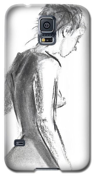Galaxy S5 Case featuring the drawing Rcnpaintings.com by Chris N Rohrbach