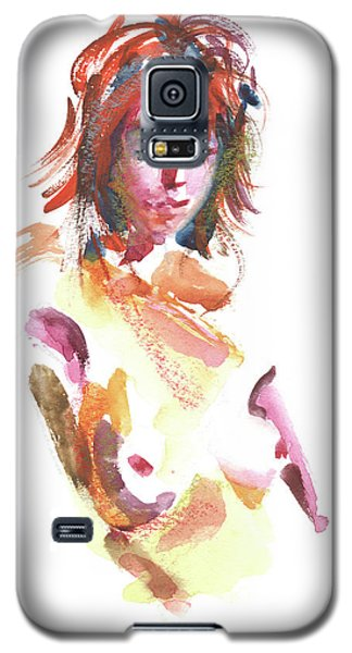 Galaxy S5 Case featuring the painting Rcnpaintings.com by Chris N Rohrbach