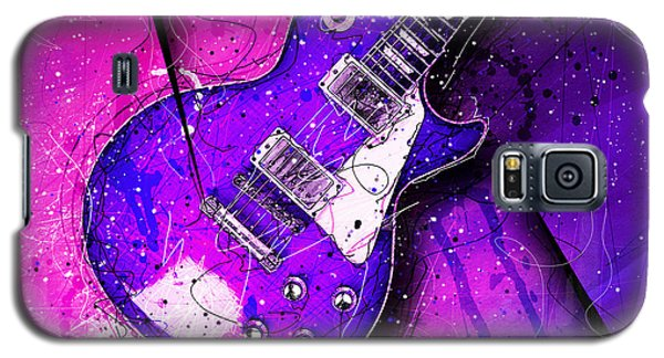 Van Halen Galaxy S5 Case - 59 In Blue by Gary Bodnar