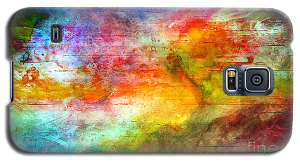 5a Abstract Expressionism Digital Painting Galaxy S5 Case