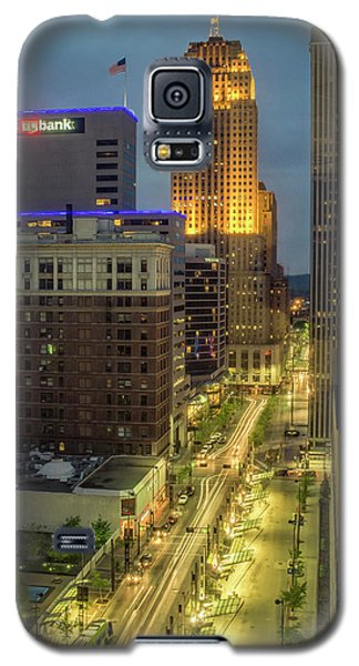 5th Street Cincinnati Galaxy S5 Case by Scott Meyer