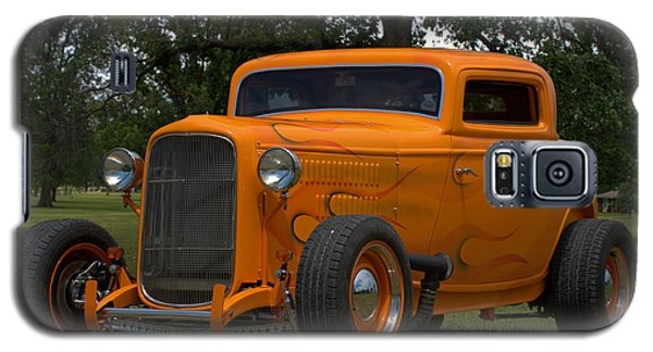 Galaxy S5 Case featuring the photograph 1932 Ford Coupe Hot Rod by Tim McCullough