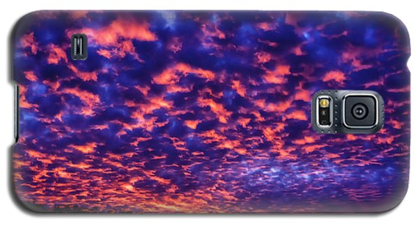Galaxy S5 Case featuring the photograph Appalachian Sunset Afterglow by Thomas R Fletcher