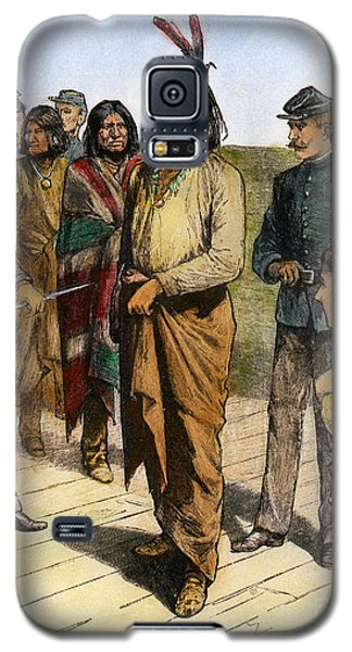 Geronimo 1829-1909.  To License For Professional Use Visit Granger.com Galaxy S5 Case