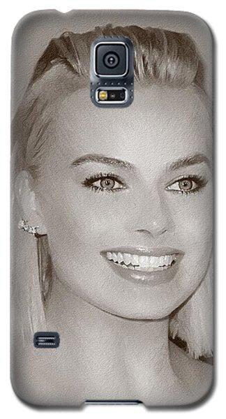 Hollywood Star Margot Robbie Galaxy S5 Case by Best Actors