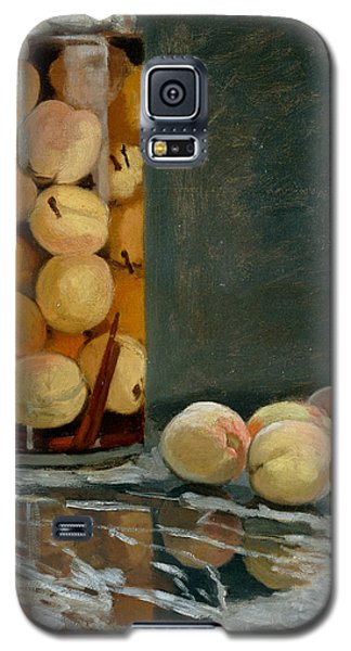 Jar Of Peaches Galaxy S5 Case by Claude Monet