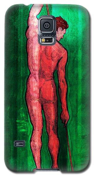 Nude Man Galaxy S5 Case