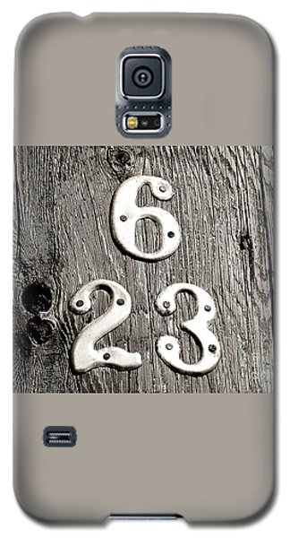 Galaxy S5 Case featuring the photograph 6 Over 23 by Ethna Gillespie