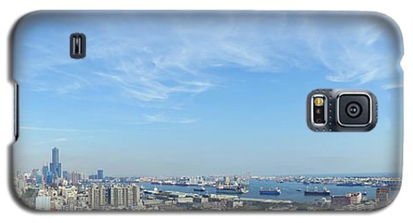 Panoramic View Of Kaohsiung City Galaxy S5 Case by Yali Shi