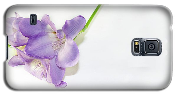 Purple Freesia Galaxy S5 Case
