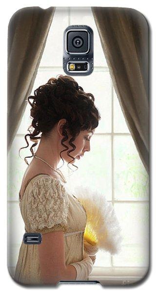 Regency Woman At The Window Galaxy S5 Case