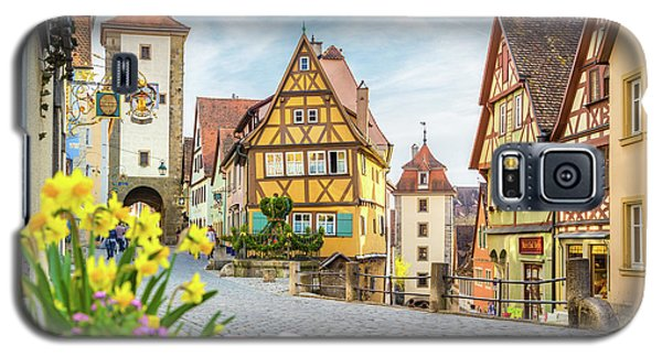 Rothenburg Ob Der Tauber Galaxy S5 Case by JR Photography