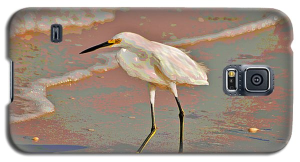 Galaxy S5 Case featuring the photograph 6- Snowy Egret by Joseph Keane