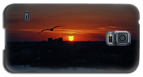 Galaxy S5 Case featuring the photograph 6- Sunset by Joseph Keane