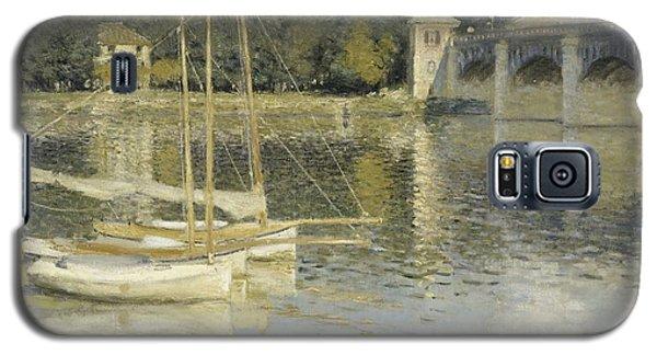 The Argenteuil Bridge Galaxy S5 Case by Claude Monet