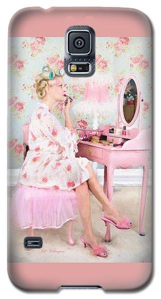 Vintage Valentine Date Galaxy S5 Case