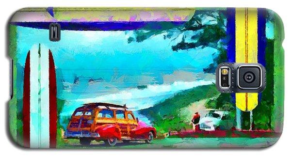 60's Surfing Galaxy S5 Case