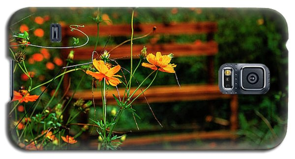 Galsang Flowers In Garden Galaxy S5 Case