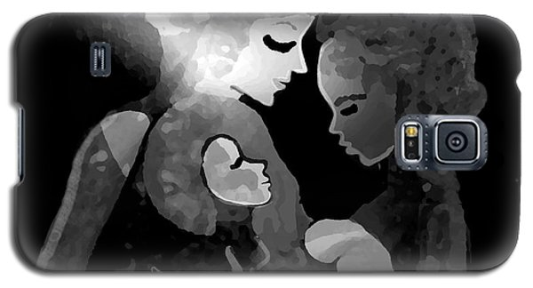 Galaxy S5 Case featuring the digital art 826 - The Child by Irmgard Schoendorf Welch