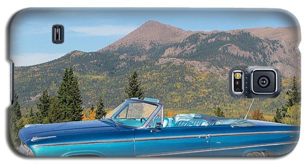 63 Ford Convertible Galaxy S5 Case by Steven Parker