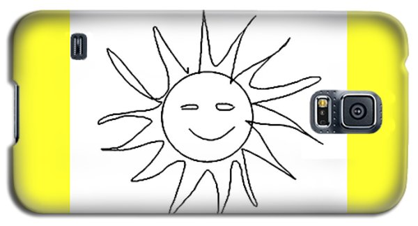 6.57.hungary-6-detail-sun-with-smile Galaxy S5 Case