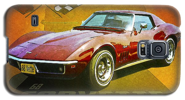 Galaxy S5 Case featuring the photograph 68 Corvette by Kenneth De Tore