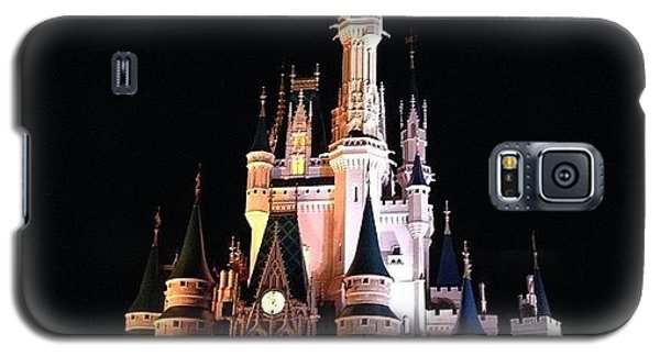 Cartoon Galaxy S5 Case - Disney Castle by Janinna Confesor