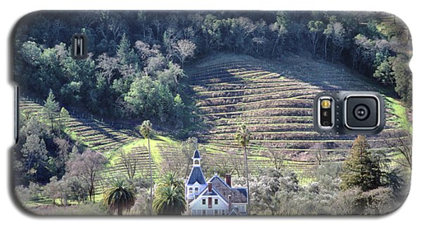6b6312 Falcon Crest Winery Grounds Galaxy S5 Case
