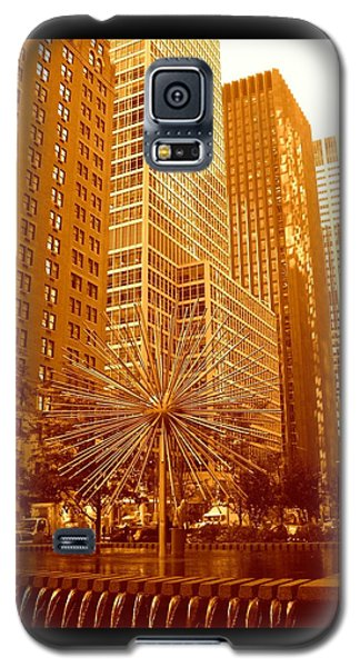 6th Avenue In Mahattan Galaxy S5 Case