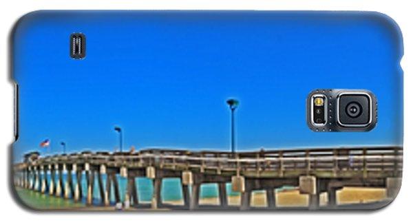 6x1 Venice Florida Beach Pier Galaxy S5 Case