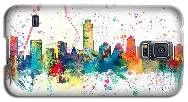 Austin Texas Skyline Galaxy S5 Case by Michael Tompsett