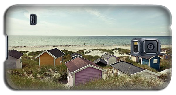 Beach Houses And Dunes Galaxy S5 Case