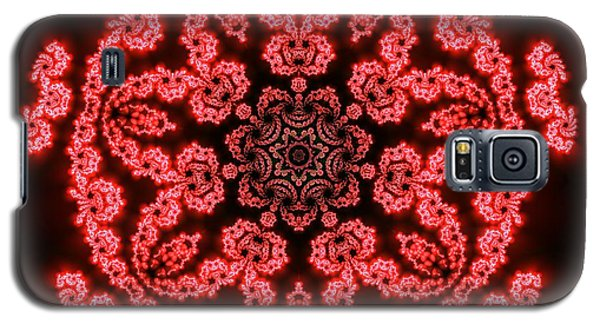 7 Beats Fractal Galaxy S5 Case by Robert Thalmeier