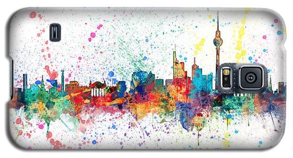 Berlin Germany Skyline Galaxy S5 Case by Michael Tompsett